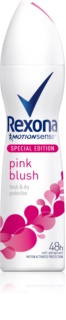 Rexona Fragrance Pink Blush antiperspirant v spreji