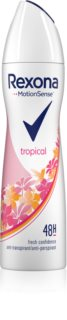 Rexona Fragrance Tropical Antiperspirant Spray 48 tim