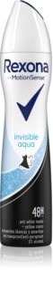 Rexona Invisible Aqua antitranspirante en spray
