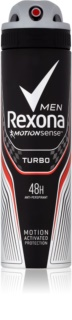 Rexona Adrenaline Turbo Antitranspirant Spray 48h