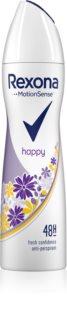 Rexona Fragrance Happy Antiperspirant Spray