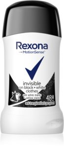 Rexona Invisible on Black + White Clothes antitranspirante en barra 48h