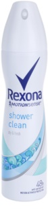 Rexona Dry & Fresh Shower Clean antiperspirant v spreji 48h