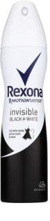 Rexona Invisible Black and White antiperspirant ve spreji