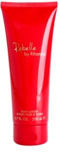 Rihanna Rebelle leite corporal para mulheres 200 ml