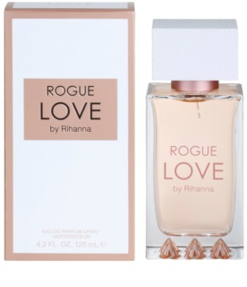 Rihanna Rogue Love Eau de Parfum para mulheres 125 ml