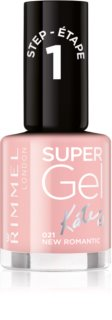 Rimmel Super Gel By Kate unhas de gel sem usar lâmpada UV/LED