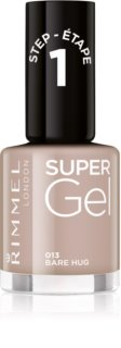 Rimmel Super Gel Step 1 unhas de gel sem usar lâmpada UV/LED