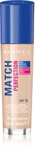 Rimmel Match Perfection fond de ten lichid  SPF 20