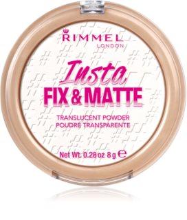 Rimmel Insta Fix & Matte Setting Powder