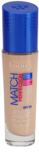 Rimmel Match Perfection Liquid Foundation SPF 20