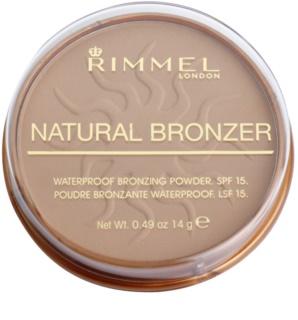 Rimmel Natural Bronzer wasserfester Bronzierpuder LSF 15