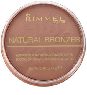Rimmel Natural Bronzer polvos resistentes al agua efecto bronceado SPF 15