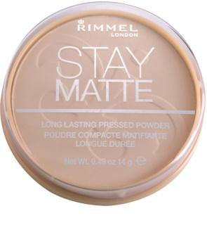 Rimmel Stay Matte пудра