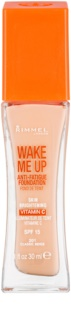 Rimmel Wake Me Up base líquida iluminadora SPF 15