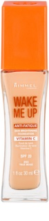 Rimmel Wake Me Up Ausstrahlendes flüssiges Make Up SPF 20