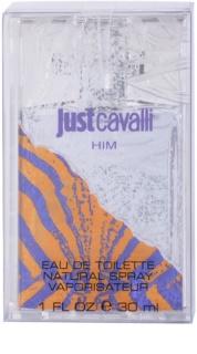 Roberto Cavalli Just Cavalli Him Eau de Toilette for Men 30 ml