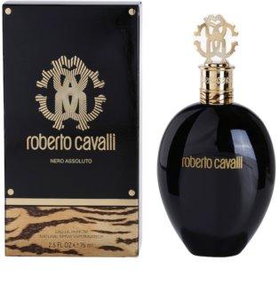 Roberto Cavalli Nero Assoluto eau de parfum nőknek 75 ml