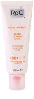 RoC Soleil Protect loción protectora antiarrugas  SPF 50+
