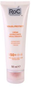 RoC Soleil Protect crema hidratante bronceadora  SPF50+