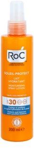 RoC Soleil Protect nawilżające mleczko ochronne w sprayu SPF30