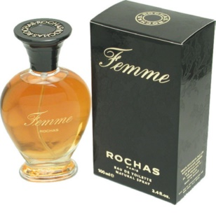 Rochas Femme Eau de Toilette for Women 100 ml