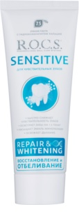 R.O.C.S. Sensitive Repair & Whitening Remineralising Toothpaste For Sensitive Teeth