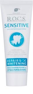 R.O.C.S. Sensitive Repair & Whitening remineralizująca pasta do zębów dla wrażliwych zębów
