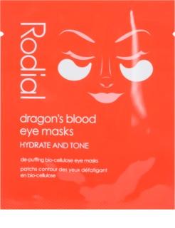 Rodial Dragon's Blood mascarilla antiojeras y antibolsas