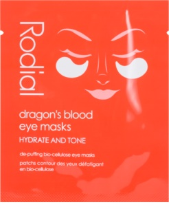 Rodial Dragon's Blood szem maszk a duzzanat és sötét karikák