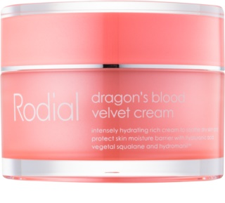 Rodial Dragon's Blood arckrém hialuronsavval száraz bőrre