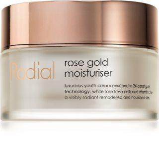 Rodial Rose Gold  λαμπρυντική κρέμα ημέρας με ενυδατική επίδραση