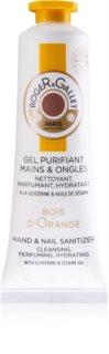 Roger & Gallet Bois d'Orange čistiaci gél na ruky na nechty pre ženy