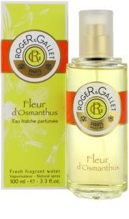 Roger & Gallet Fleur d´ Osmanthus água refrescante para mulheres 100 ml