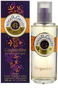 Roger & Gallet Gingembre água refrescante unissexo 100 ml