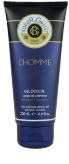 Roger & Gallet Homme гель для душу та шампунь 2 в 1