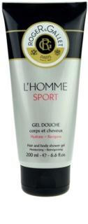 Roger & Gallet L'Homme Sport tusfürdő gél és sampon 2 in 1