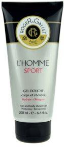 Roger & Gallet L'Homme Sport τζελ για ντους και σαμπουάν 2 σε 1