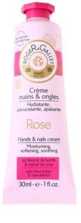 Roger & Gallet Rose crema para manos y uñas con manteca de karité y extracto de rosa