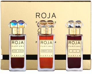 Roja Parfums Aoud Parfum de Voyage Geschenkset I. Aoud, Musk Aoud, Amber Aoud