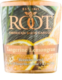 Root Candles Tangerine Lemongrass votivní svíčka 60 g