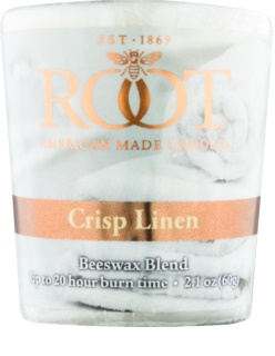 Root Candles Crisp Linen Votivkerze 60 g