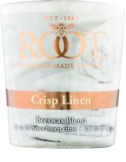 Root Candles Crisp Linen Votivkerze 60 g