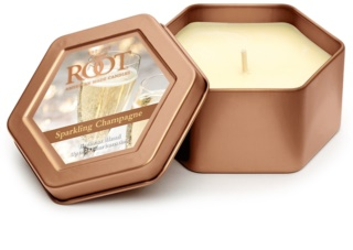 Root Candles Sparkling Champagne candela profumata 113 g in lattina