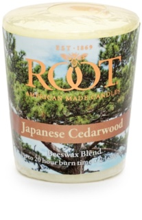Root Candles Japanese Cedarwood Votivkerze 60 g