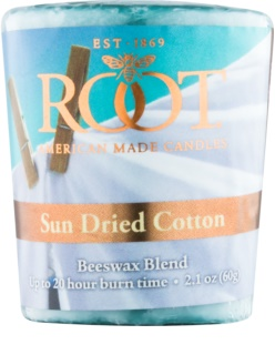Root Candles Sun Dried Cotton Votive Candle 60 g