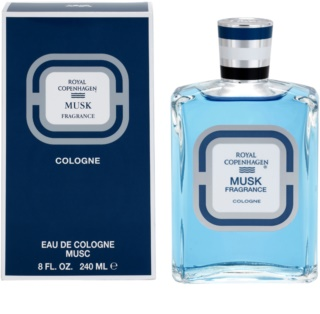 Royal Copenhagen Royal Copenhagen Musk eau de cologne para homens 240 ml