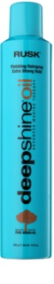 Rusk Deep Shine Oil Quick-Dry Hair Spray For Fixation And Shape