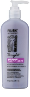 Rusk Sensories Bright Conditioner for Blonde and Grey Hair Neutralizes Yellow Tones