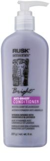 Rusk Sensories Bright odżywka do włosów blond i siwych neutralizujący żółtawe odcienie